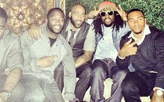 DeSean Jackson at club with Redskins players and Wale