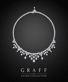 Graff Diamonds: Lotus Necklace