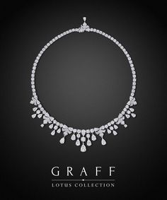 Graff Diamonds: Lotus Necklace