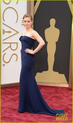 Amy Adams - Oscars 2014 Red Carpet with Darren Le Gallo | 2014 Oscars, Amy Adams, Darren Le Gallo Photos | Just Jared