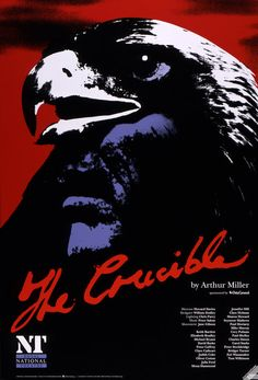 The crow in the poster is significant as it represents evil or ill-intent. Juxtaposed with the red, the purple and black appear ominous.