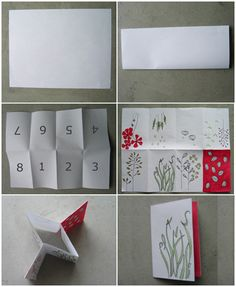 Creating your very own zine from one sheet of paper. What you will need: sheet of paper 8 _ x 11 *pencil, erasers and markers *scissors step one: .take the paper and divide into 8 even folds step two:. Book Folding, Paper Folding, Paper Art, Paper Crafts, Paper Book, Origami, Book Journal, Journals, Handmade Books