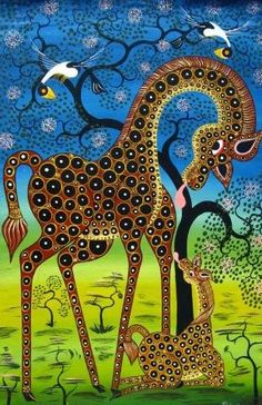 Tingatinga - great african paintings