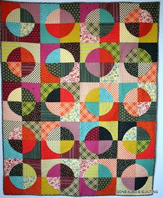 Gone Aussie Quilting: Blue Moon Chicopee Finished