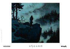 Ex-libris BD fugue pour la série Asgard de Dorison et Meyer. #Dargaud #BD #Asgard