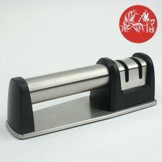 2013 Mais TAIDEA aço inoxidável duas etapas (Diamond & Ceramic) Cozinha afiador de facas, diamante apontador, T1007DC