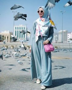 Romantic hijab fashion styles – Just Trendy Girls
