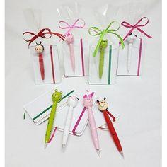 #block  de notas con bolígrafo #madera  #animalitos. Se presenta en bolsa con rafia a tono y tarjeta personalizada.