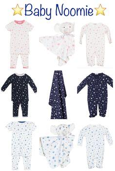 Baby Shower Gift Ideas >> Baby Noomie Star Print Layette!