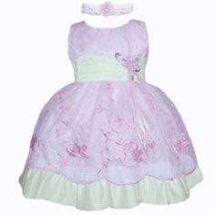 Baby Girls Easter Dresses (Assorted Colors 3M - 4T)