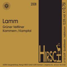 Grüner Veltliner Lamm, Hirsch, Kamptal Austria – most excellent