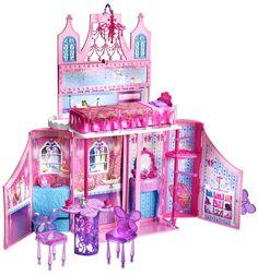 Barbie - Castillo del reino de las hadas, set de accesorios (Mattel Y6855): Amazon.es: Juguetes y juegos