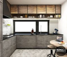 kuchnia  - podobne kolory