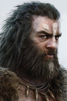 the hair/fur textures on this are very good, I really like them, the hair looks quite dry and rough I could implement this into my boss with specific texture properties such as a lack of a specular map or a lower intensity one.