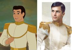 Artist Jirka Väätäinen created brilliantly realistic renditions of what #Disney princes would look like in real life. Pictured: Prince Charming from Cinderella. #art