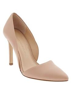Love these! Perfect for so many outfits, seasons and occasions. Can't beat the D'orsay look, either. Very feminine & lovely.