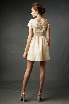 robe de soirée courte beige les tendances 2015
