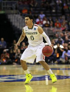 NCAA Basketball: Shane Larkin projected at 23 according to Yahoo! in this year's draft