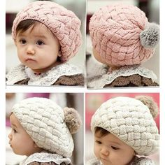 Toddler Hat Baby Girl Cap Girl Beanie Baby Hat by SolarButterfly, $17.90