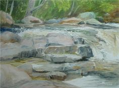 Online gallery of Fine Art by Brenda L. Kenney: Original Paintings of Northern New England Joy Of Life, Online Gallery, New Hampshire, New England, Original Paintings, Hiking, United States, Oil, In This Moment