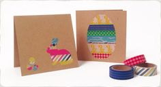 Easter Craft Activity - Cards with Paper Tape - Micador
