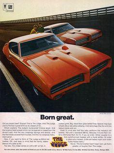 1969 Pontiac GTO Judge and GTO