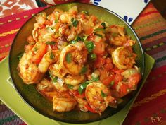 Mexican Shrimp Stir Fry is the ideal #spicy meal for dinner tonight.