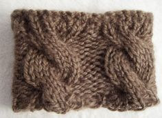 Hand knit boot cuff Brown boot cuff Boot by KnitWithPleasure