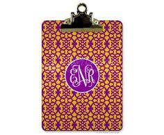 Personalized clip boards - you can even add your own picture!  20% off through August.