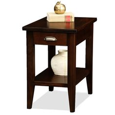 Leick Furniture Laurent Collection Drawer Chair Side Table 10506