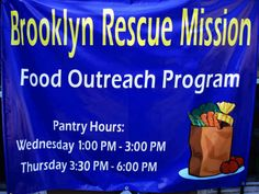 Brooklyn Rescue Mission- Food Justice for Bed-Stuy