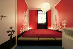 Japanese Decor bedroom ideas - I luv this!