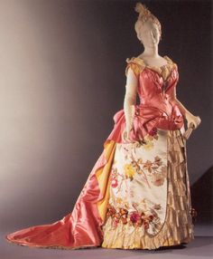 Worth dresses  | Worth dress 1886-87 - Philadelphia Museum of Art