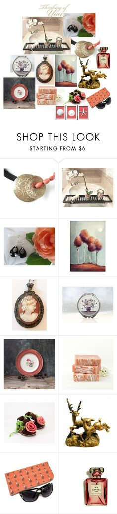 """""""Thinking of You"""" by inspiredbyten ❤ liked on Polyvore featuring Chanel and vintage"""