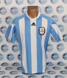 758ac7f82 ARGENTINA NATIONAL TEAM 2009 2010 HOME FOOTBALL SOCCER SHIRT JERSEY TRIKOT  BOYS  adidas  Argentina