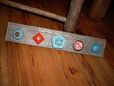 Necklace Holder on Barn Wood