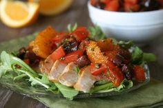 Holy YUM! Portugues Orange, Tomato and Olive Relish