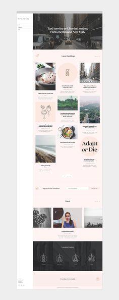 Rambling Muse Branding   Abduzeedo Design Inspiration