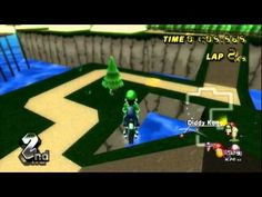 Mario Kart Wii - Gliding / Flying glitch! - YouTube