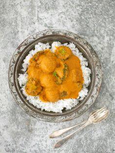 Kasvispyörykät curryssa - Reseptit - Helsingin Sanomat