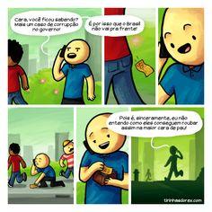 Satirinhas - Quadrinhos, tirinhas, curiosidades e muito mais! - Part 92
