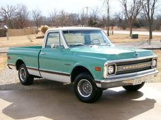 1969 Chevy C10 CST SWB Fleet Maintenance of old vehicles: the material for new cogs/casters/gears could be cast polyamide which I (Cast polyamide) can produce