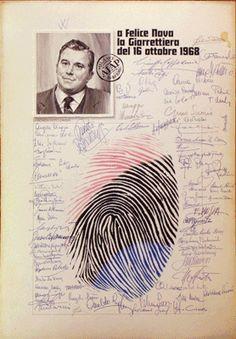 Premio Giarrettiera - Aiap 1968 a Felice Nava