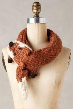 Eugenia Kim Knit Fox Stole #anthroregistry #holidaygifts