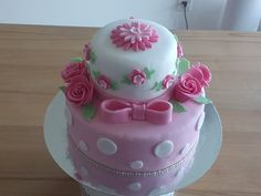 Little Fi's birthday cake