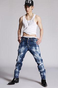 Jeans Pants, Dsquared2, Skinny Jeans, Glamour, Guys, Men, Primavera Estate, Shopping, Fashion