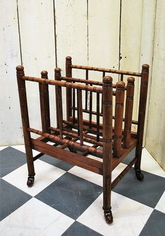 Liberty & Co Arts And Crafts Magazine Rack/stand - Antiques Atlas
