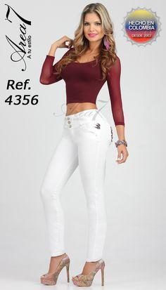 Ref 4402   Colección Jeans Levantacola Area 7   Pinterest