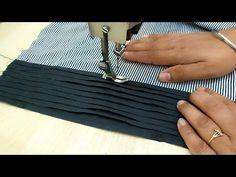 Pintex Sleeves Design making Latest Kurti, Baby Dresses, Pin Tucks, Sleeve Designs, Youtube, Sleeves, Fashion, Moda, Fashion Styles
