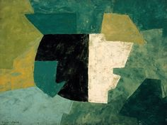 Serge Poliakoff Composition 1956
